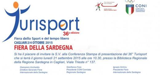 36^a edizione TURISPORT a Cagliari - Dal 2 al 4 Ottobre 2015