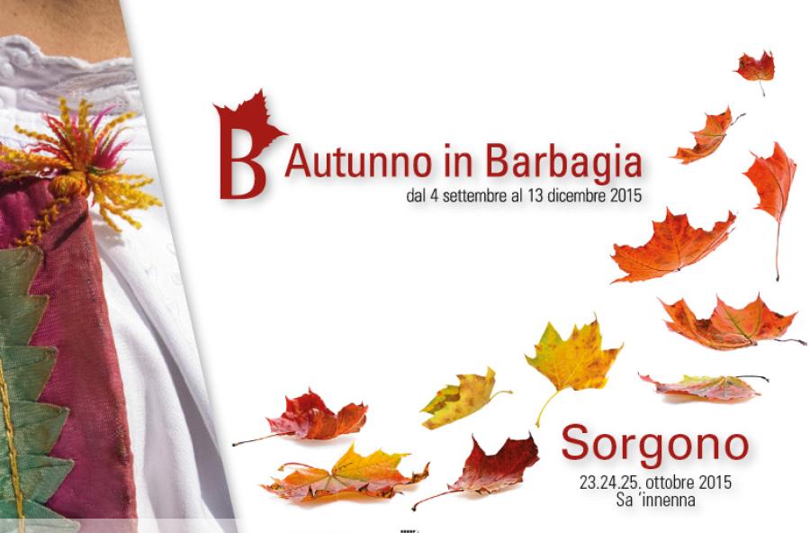Autunno in Barbagia 2015 a Sorgono