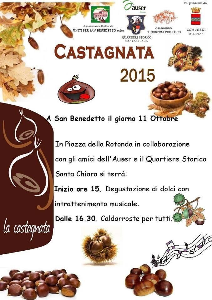 Castagnata 2015 ad Iglesias - Domenica 11 Ottobre 2015