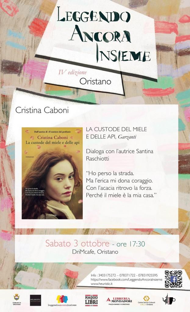 """Cristina Caboni presenta """"La custode del miele e delle api"""""""
