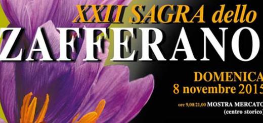 XXII Sagra dello Zafferano a Turri - Domenica 8 Novembre 2015