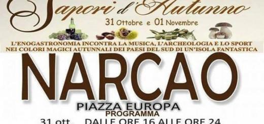 Sapori d'Autunno 2015 a Narcao - Sabato 31 Ottobre e Domenica 1 Novembre
