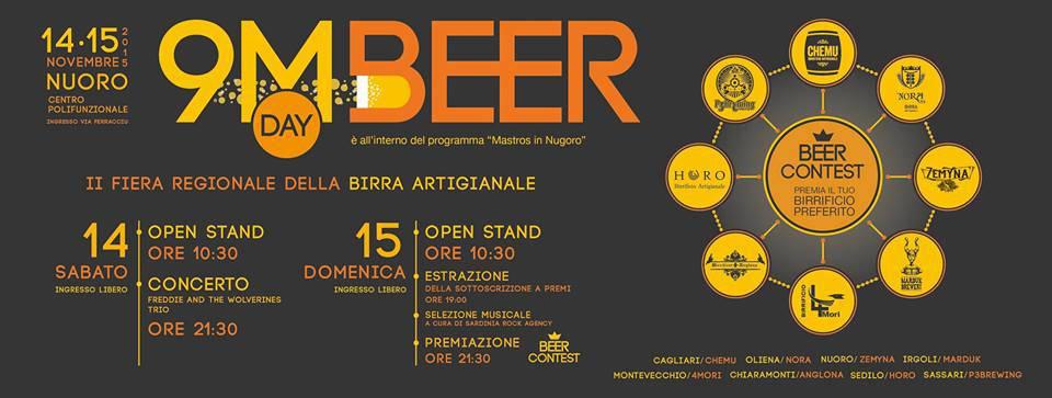 9MBEER DAY, 2^a Fiera Regionale della Birra Artigianale