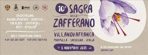 10ª Sagra dello Zafferano a Villanovafranca - Domenica 8 Novembre 2015
