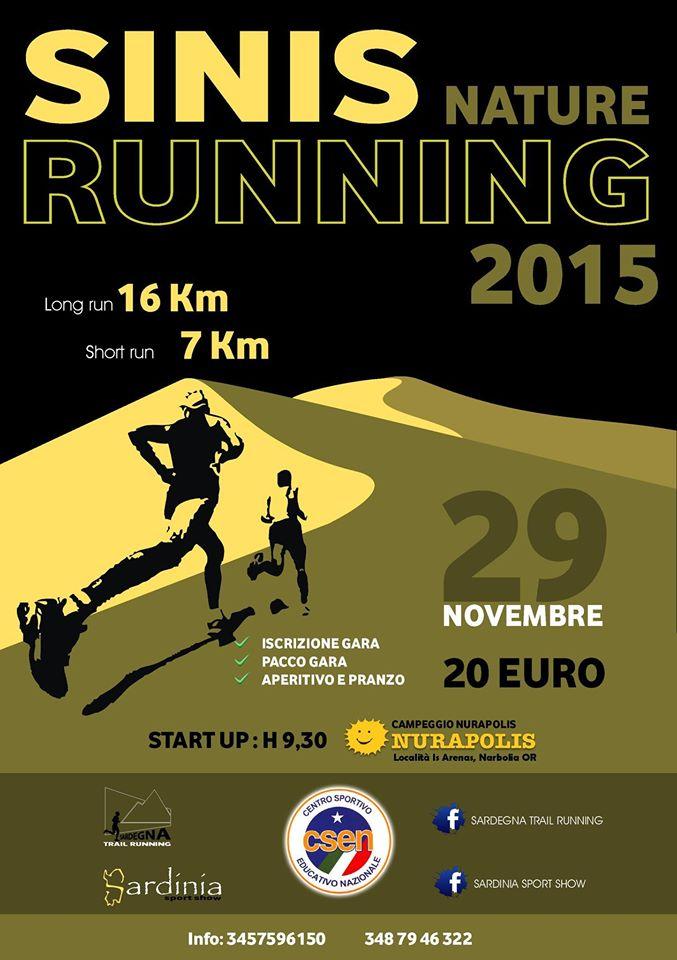Sinis Nature Running 2015 - Domenica 29 Novembre