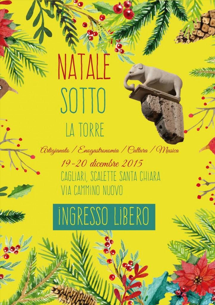 """""""Natale Sotto la Torre"""" - A Cagliari il 19 e 20 Dicembre 2015"""