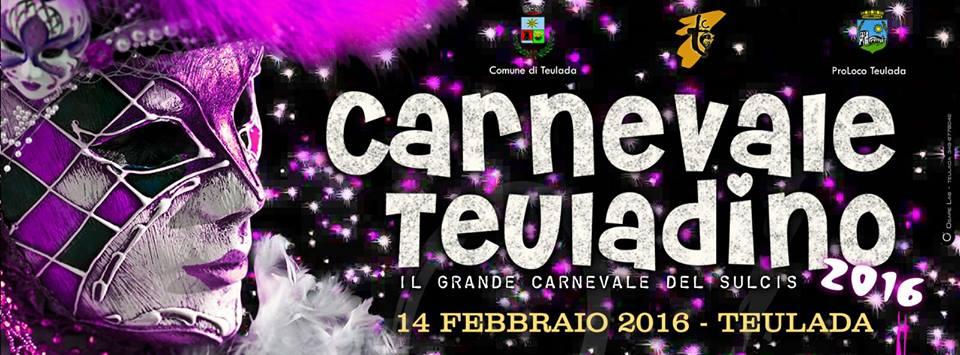 Carnevale Teuladino 2016 - Domenica 14 Febbraio 2016
