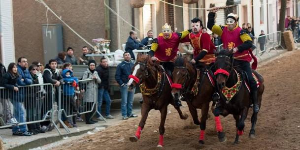 Sas Cursas de Carrasegae, il Carnevale di Paulilatino