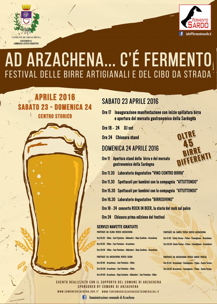 Ad Arzachena.... c'è fermento!!! - Sabato 23 e Domenica 24 Aprile 2016
