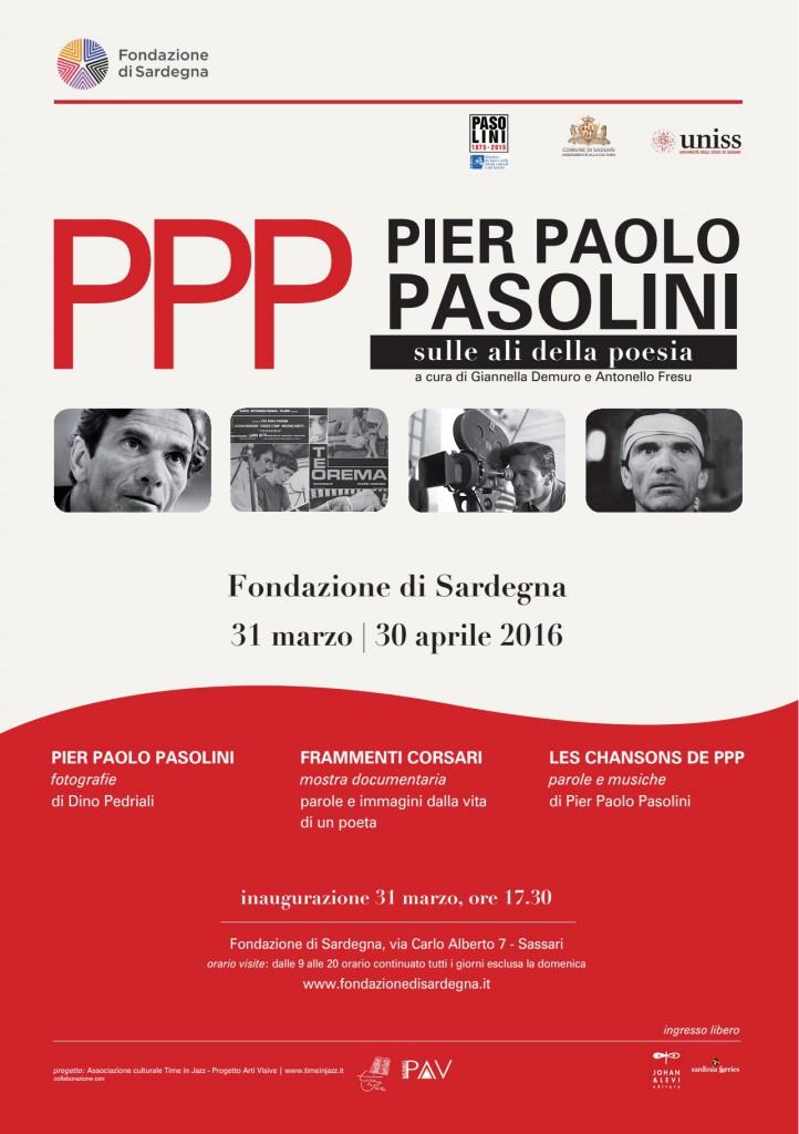 Inaugurazione della mostra PPP Pier Paolo Pasolini sulle ali della poesia