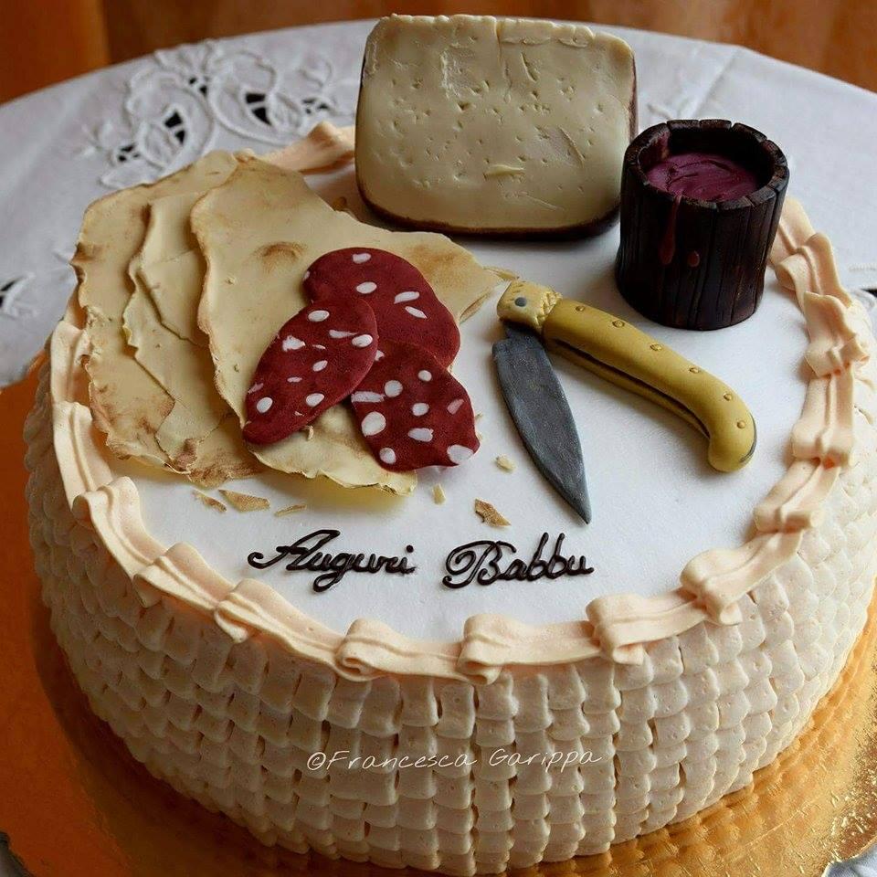 Una bella torta di Francesca per la Festa del Papà direttamente dalla Sardegna!