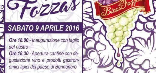 Binos de Fozzas 2016 a Bonnanaro - Sabato 9 Aprile