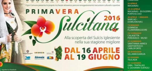 Il calendario della Primavera Sulcitana 2016