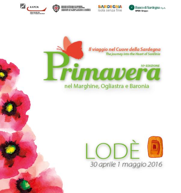 Primavera nel Marghine, Ogliastra e Baronia – A Lodè il 30 Aprile e 1 Maggio 2016