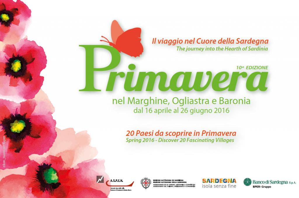 Primavera nel Marghine, Ogliastra e Baronia 2016