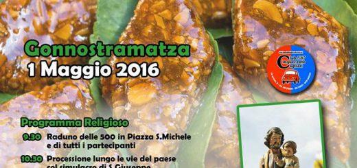 11^ Sagra del Gattou a Gonnostramatza - Domenica 1 Maggio 2016