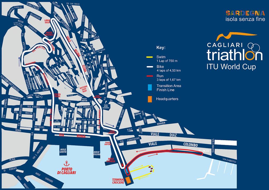 Cagliari Triathlon ITU World Cup - Domenica 8 Maggio 2016