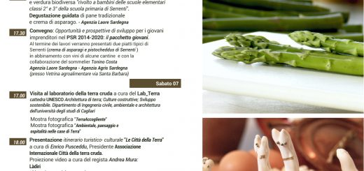 """Sagra dell'asparago e de su """"Pistocheddu de Capa"""" di Serrenti - Dal 6 all'8 Maggio 2016"""