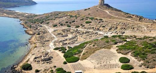 L'anfiteatro di Tharros