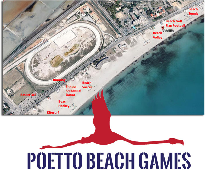 Aree sportive Poetto Beach Games 2016