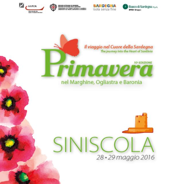 Primavera nel Marghine, Ogliastra e Baronia – A Siniscola il 28 e 29 Maggio 2016