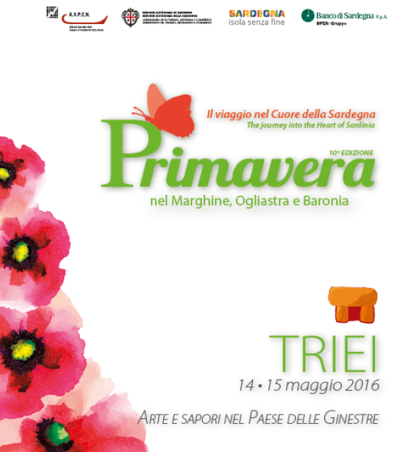 Primavera nel Marghine, Ogliastra e Baronia – A Triei il 14 e 15 Maggio 2016