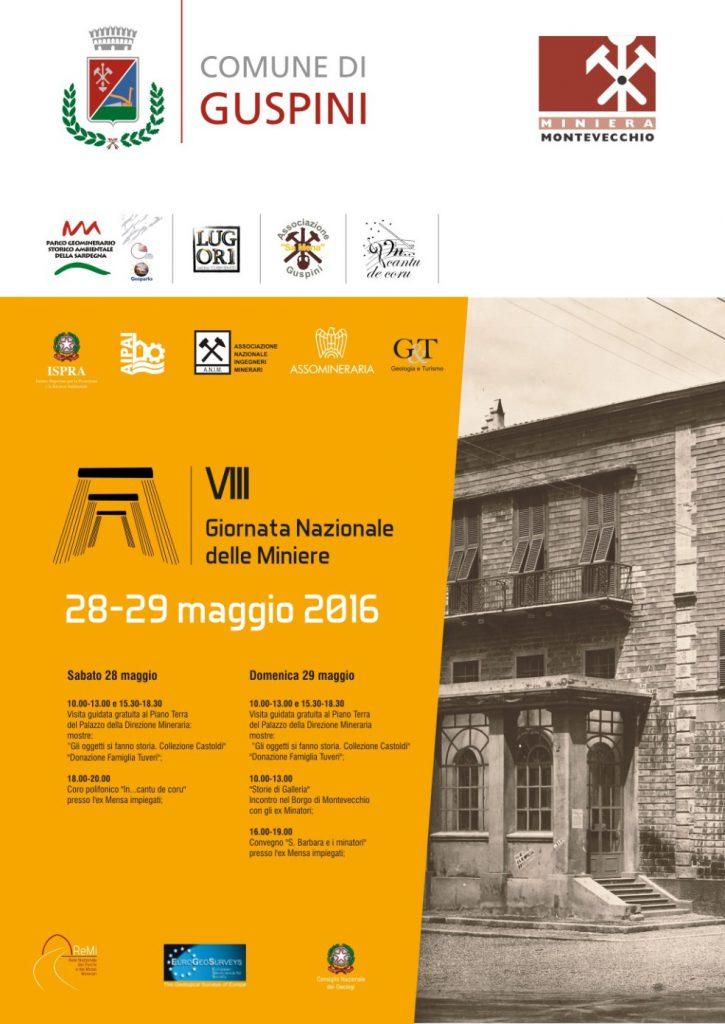 VIII Giornata Nazionale delle Miniere a Montevecchio