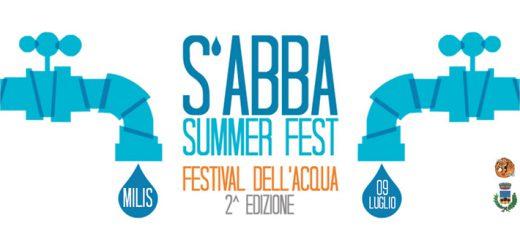 S'abba Summer Fest 2016 a Milis - Sabato 9 Luglio