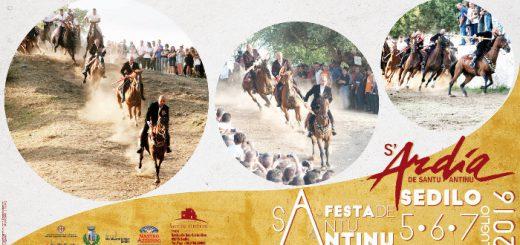 S'Ardia de Santu Antinu 2016 a Sedilo
