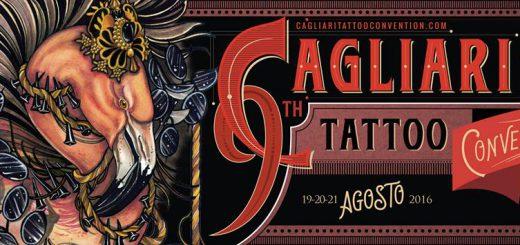Cagliari Tattoo Convention - A Quartu Sant'Elena dal 19 al 21 agosto 2016