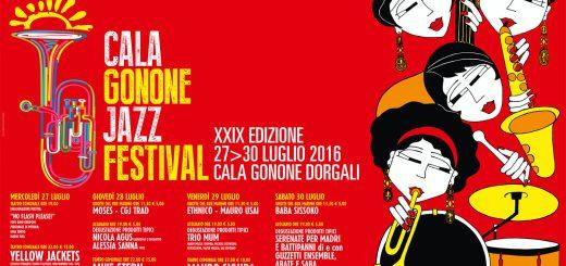 29^ edizione del Cala Gonone Jazz Festival - Dal 27 al 30 Luglio 2016