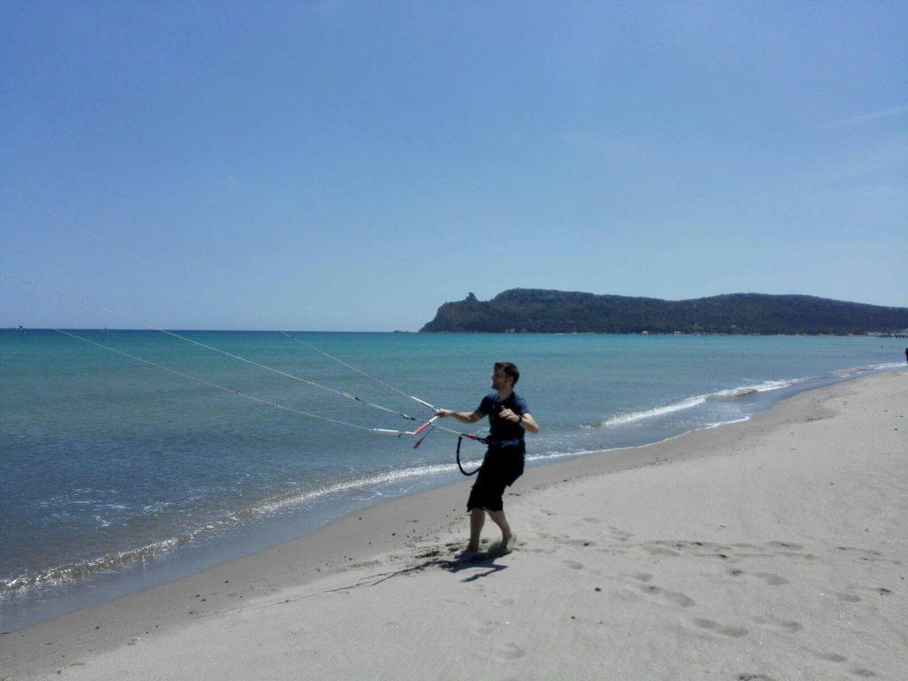 kitesurf a Cagliari