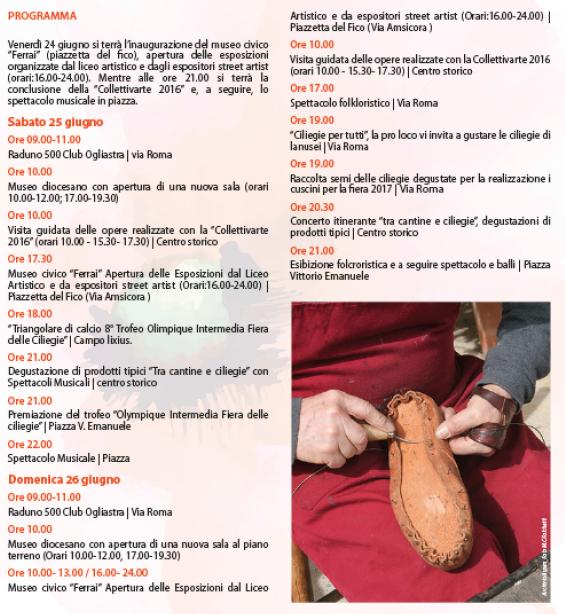 Primavera nel Marghine, Ogliastra e Baronia a Lanusei - Programma