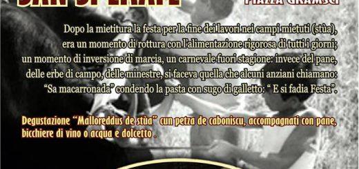 3^ Sagra dei Malloreddus de stùa cun petza de cabonicscu - A San Sperate il 25 Giugno 2016