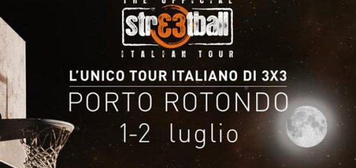 Streetball Italian Tour 2016 - A Porto Rotondo l'1 e 2 Luglio 2016