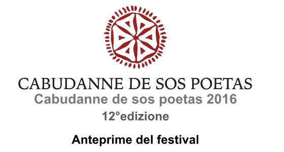 "Aspettando il ""Cabudanne de sos poetas 2016"""