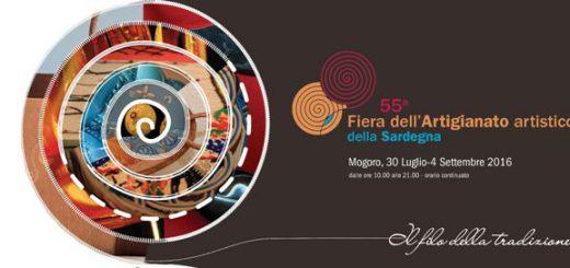 55^ Fiera dell'Artigianato artistico della Sardegna - A Mogoro dal 30 luglio al 4 settembre 2016
