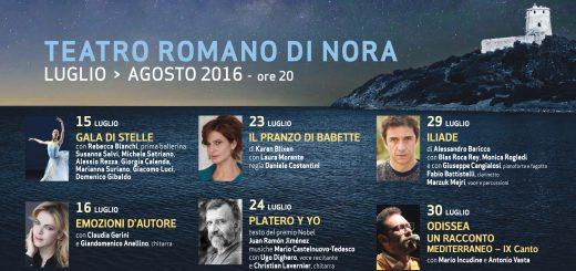 XXXIV edizione di La Notte dei Poeti a Pula - Dal 9 luglio al 7 agosto 2016