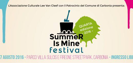 Summer Is Mine Festival - A Carbonia dal 5 al 7 agosto 2016