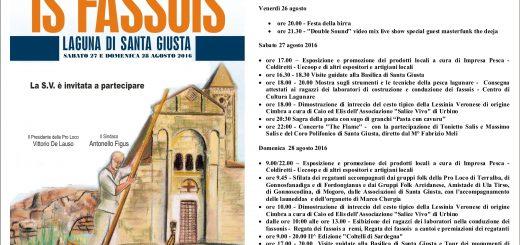 Regata de Is Fassois 2016 - Sabato 27 e domenica 28 agosto a Santa Giusta