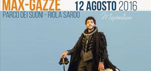 Max Gazzè al Parco dei Suoni di Riola Sardo - Venerdì 12 agosto 2016