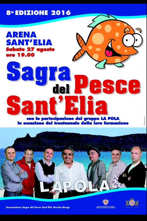 Sagra del Pesce di Sant'Elia - Sabato 27 agosto 2016 a Cagliari