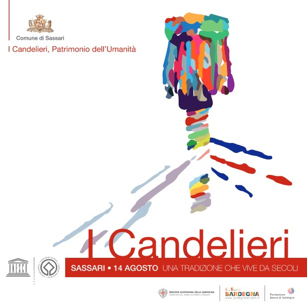 I Candelieri - A Sassari il 14 agosto 2016