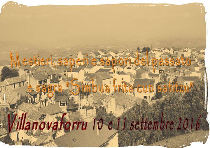 Mestieri, Saperi e Sapori del Passato - A Villanovaforru il 10 e l'11 settembre 2016