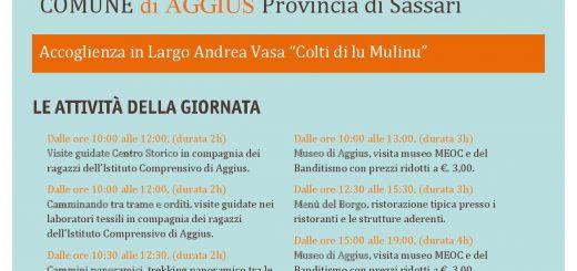 Giornata Bandiere Arancioni ad Aggius - Domenica 9 ottobre 2016