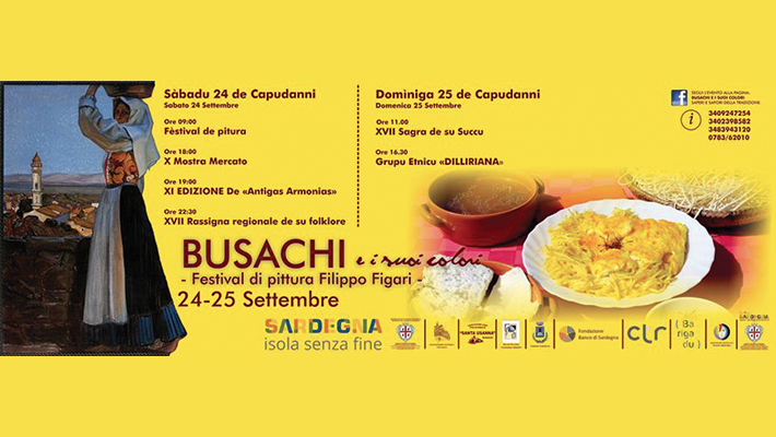 Busachi e i suoi colori - Sabato 24 e domenica 25 settembre 2016