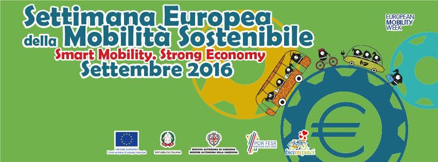 """""""Settimana Europea della Mobilità Sostenibile 2016"""" in Sardegna"""