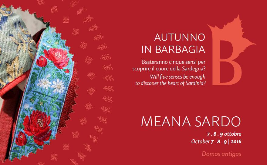 Autunno in Barbagia a Meana Sardo - Dal 7 al 9 ottobre 2016