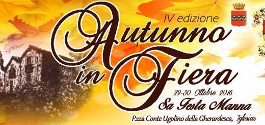 4^ edizione Autunno in Fiera - Ad Iglesias il 29 e 30 ottobre 2016