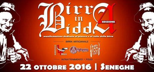 4ª edizione Birra in Bidda a Seneghe - Sabato 22 ottobre 2016
